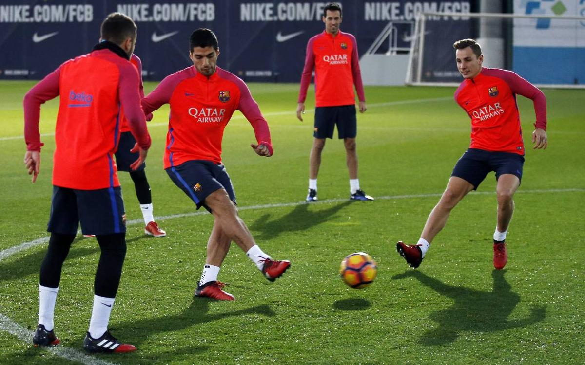 FC Barcelona's training schedule for derby week