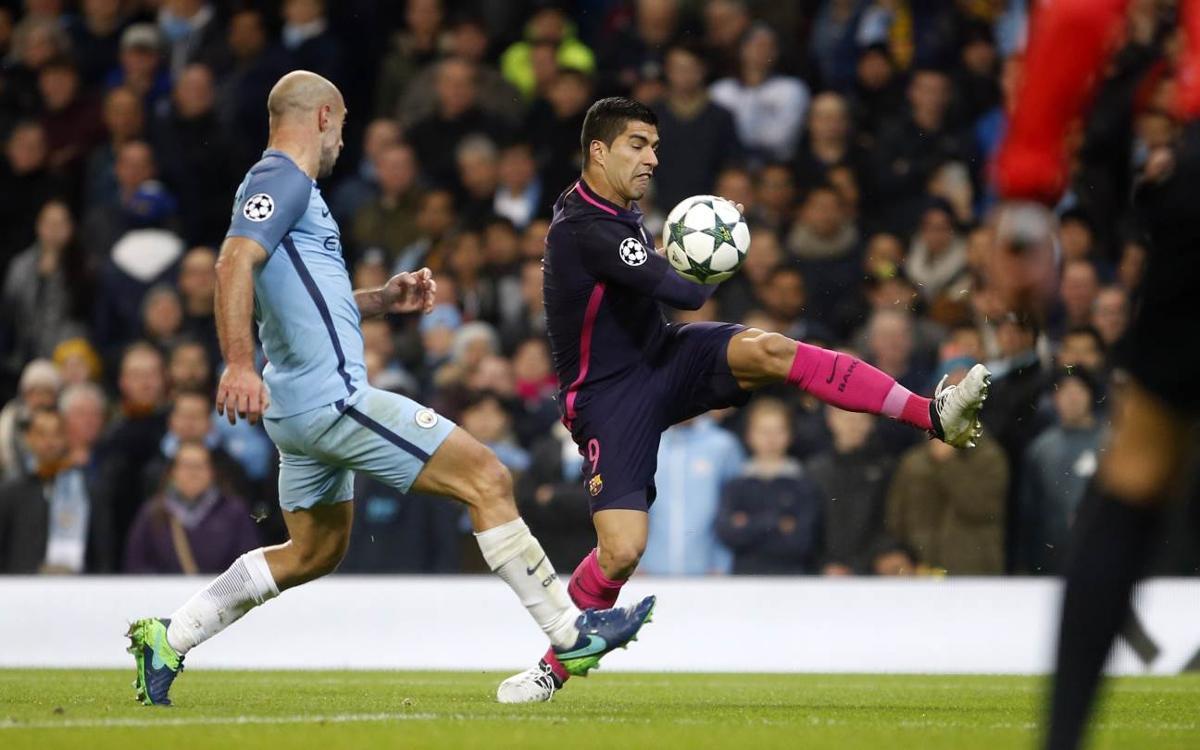 FC Barcelona's Luis Suárez: 'Qualification still in our own hands'