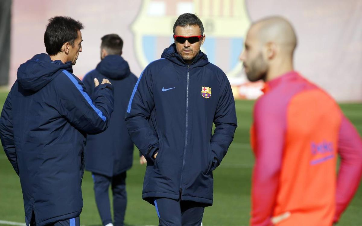 Luis Enrique: The objective is to win the Copa del Rey