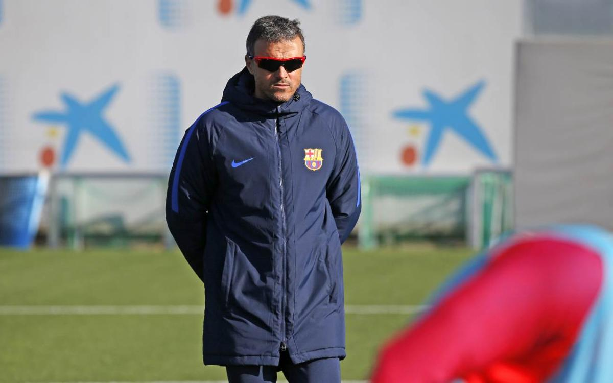Luis Enrique expects attractive football in a game against high-quality opposition