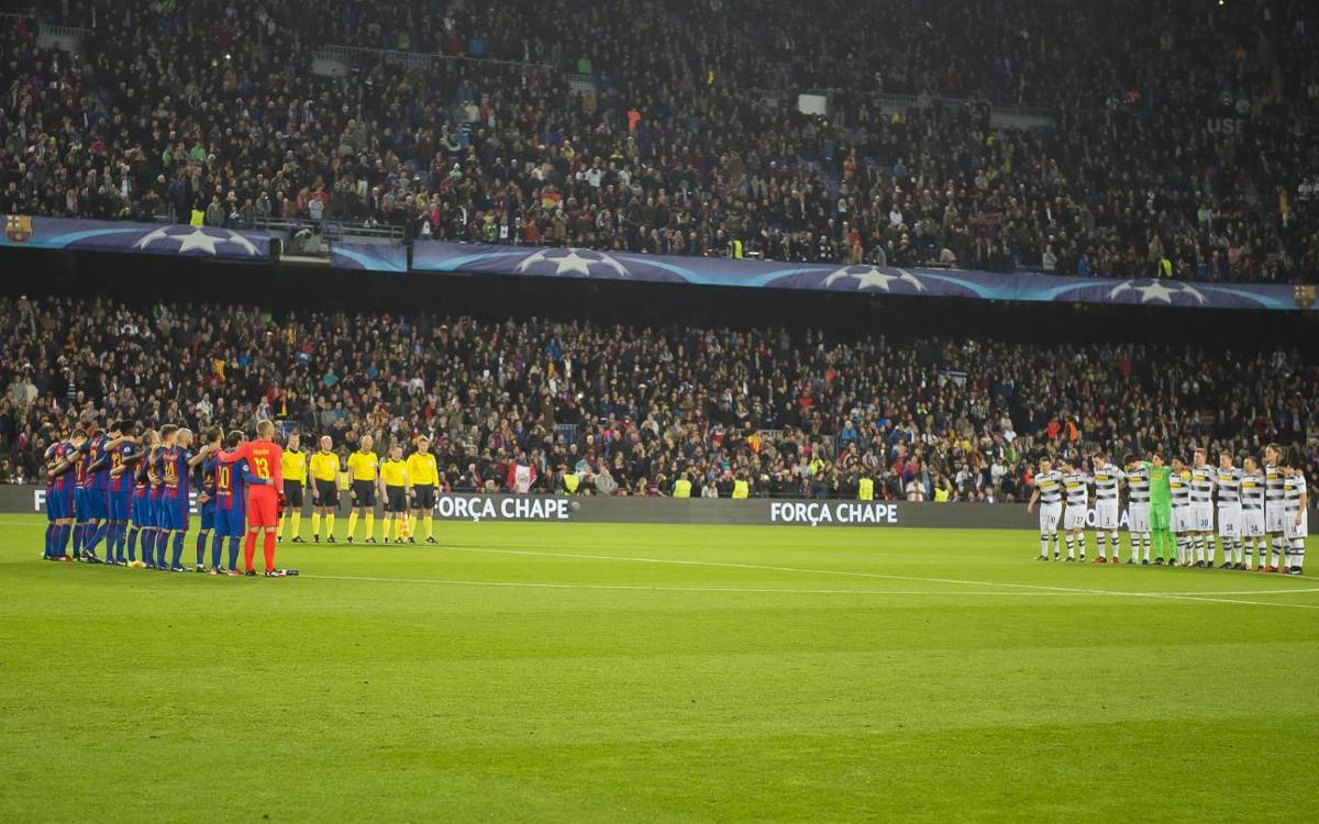 FC Barcelona invites Chapecoense to the 2017 Joan Gamper Trophy