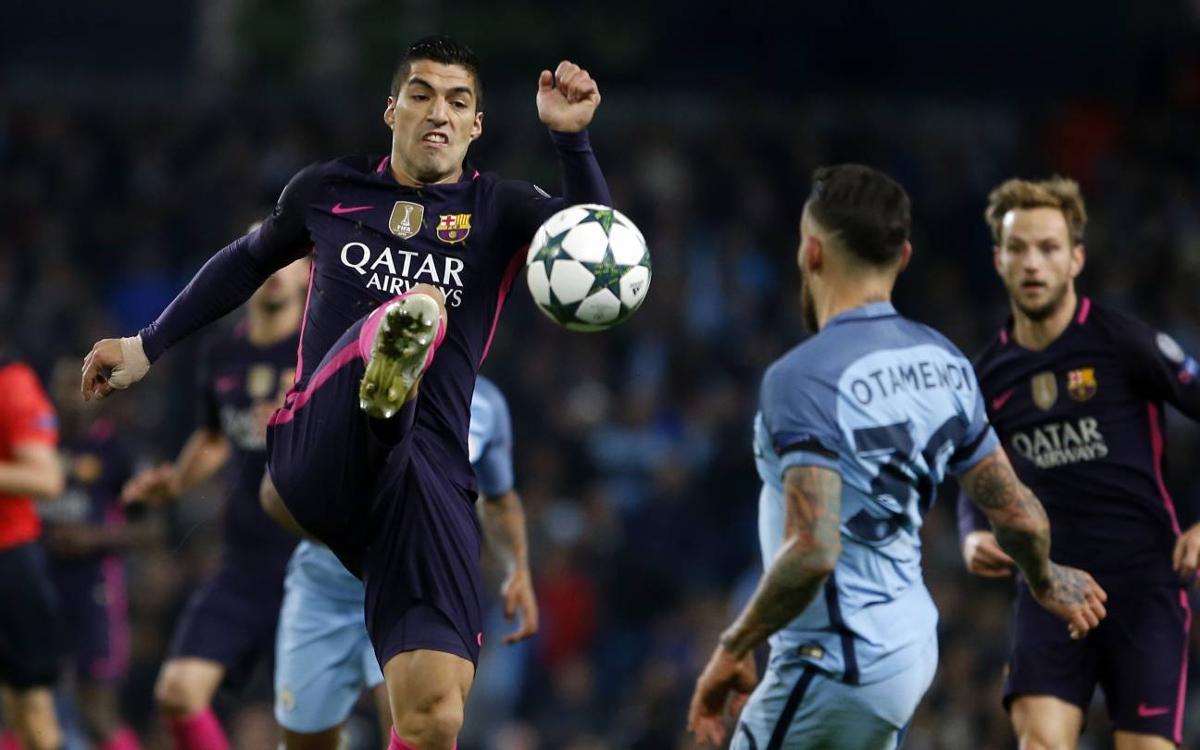 Manchester City 3-1 FC Barcelona: Shaken, not stirred