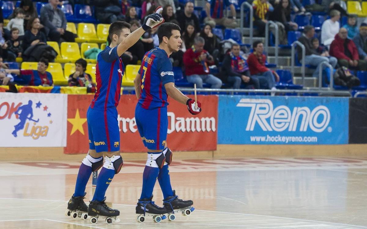 Cafès Novell Vilafranca – FC Barcelona Lassa: Trenquen la resistència per ampliar la ratxa (5-7)