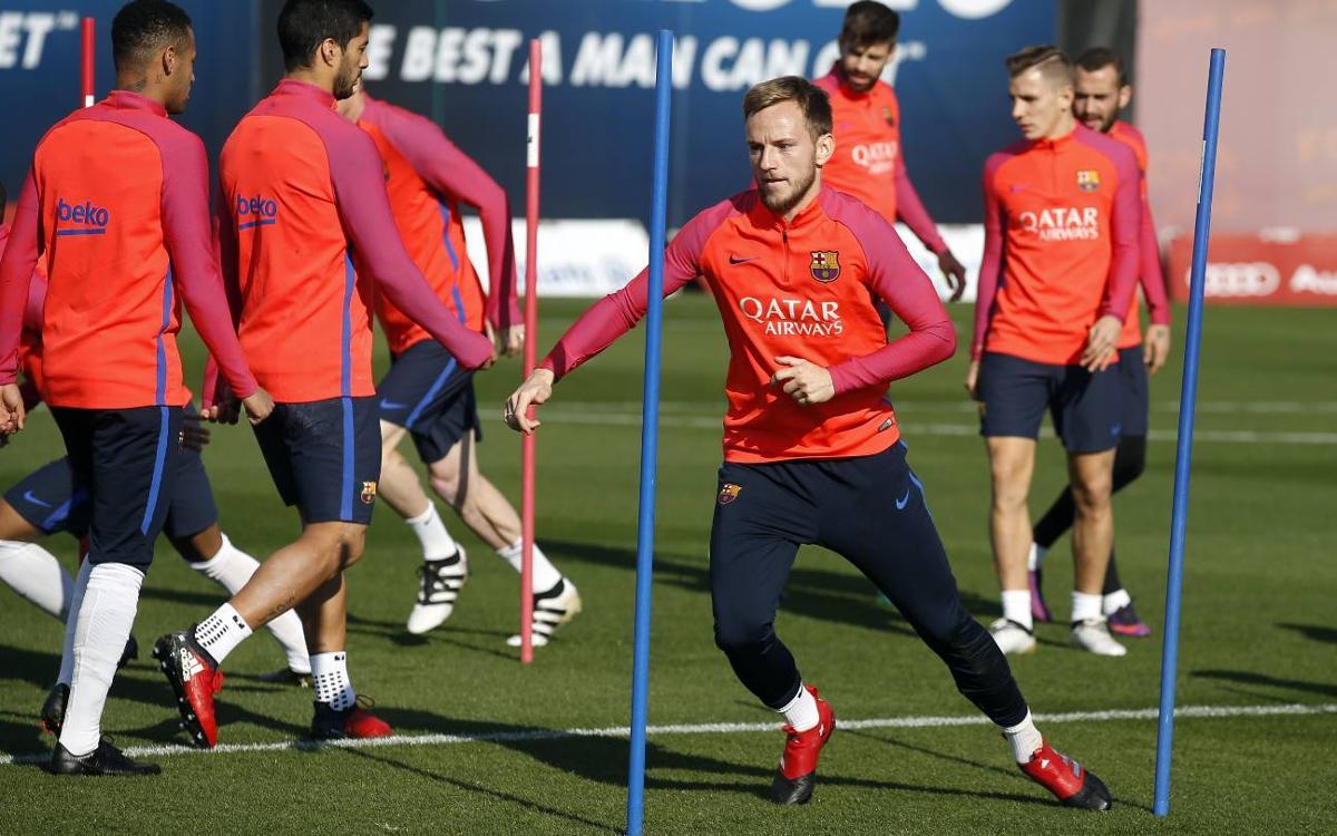 Programme de la semaine du FC Barcelone, avec deux matches à l'extérieur