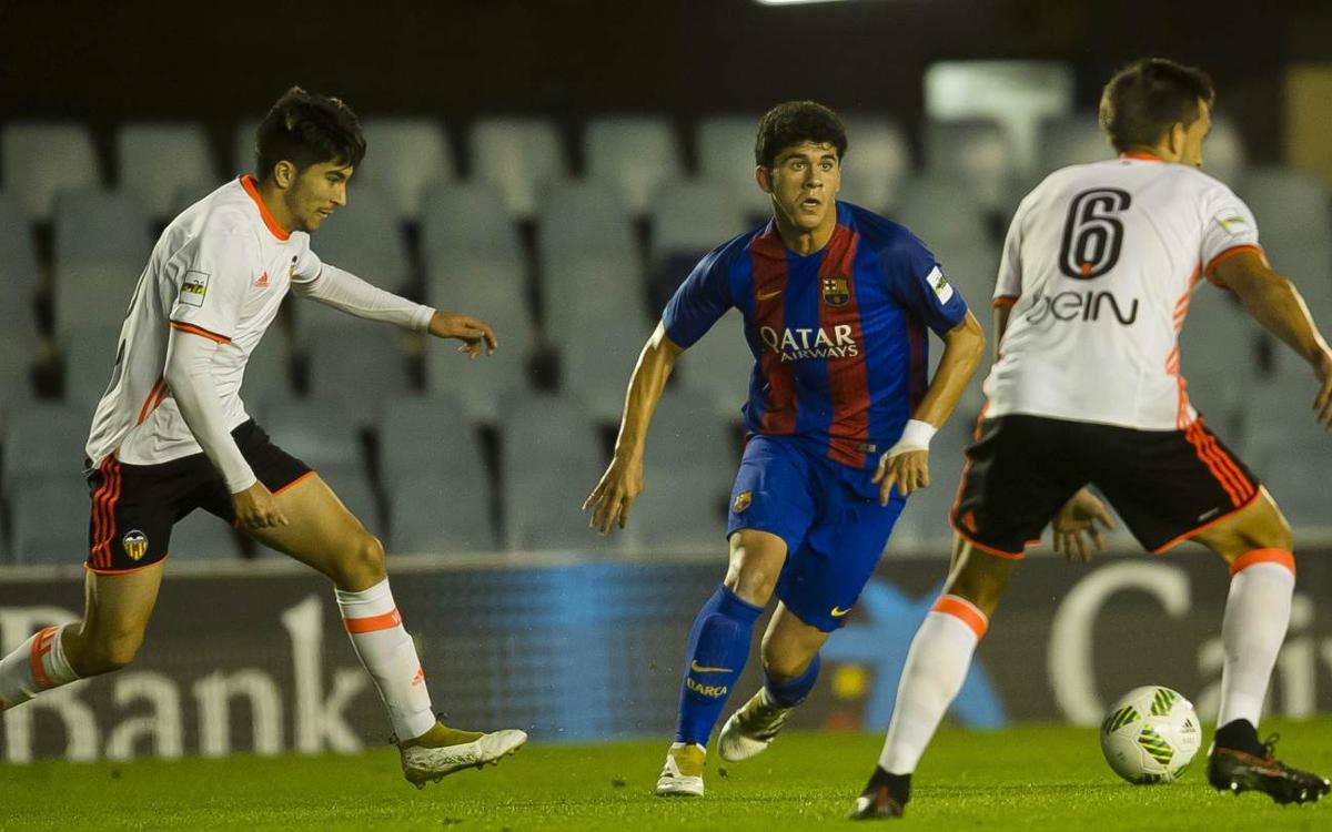 Compromisos internacionales también para el Barça B y Juvenil A