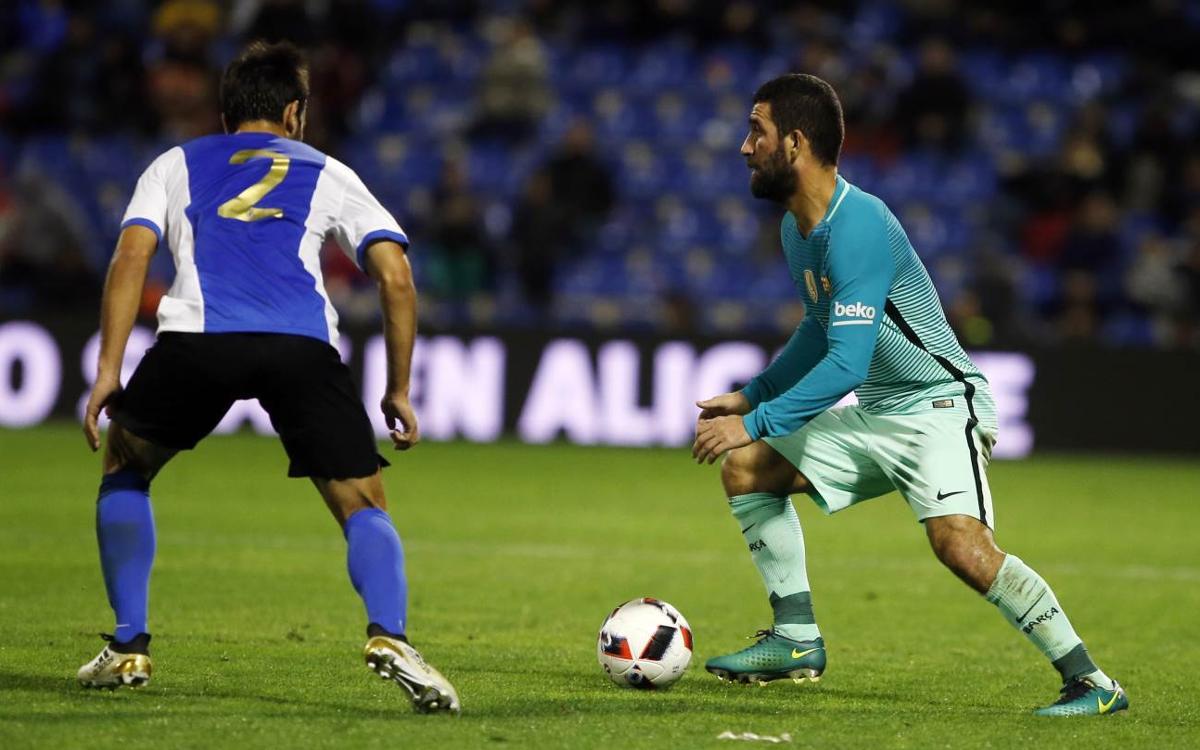 Copa del Rey video highlights: Hércules vs FC Barcelona