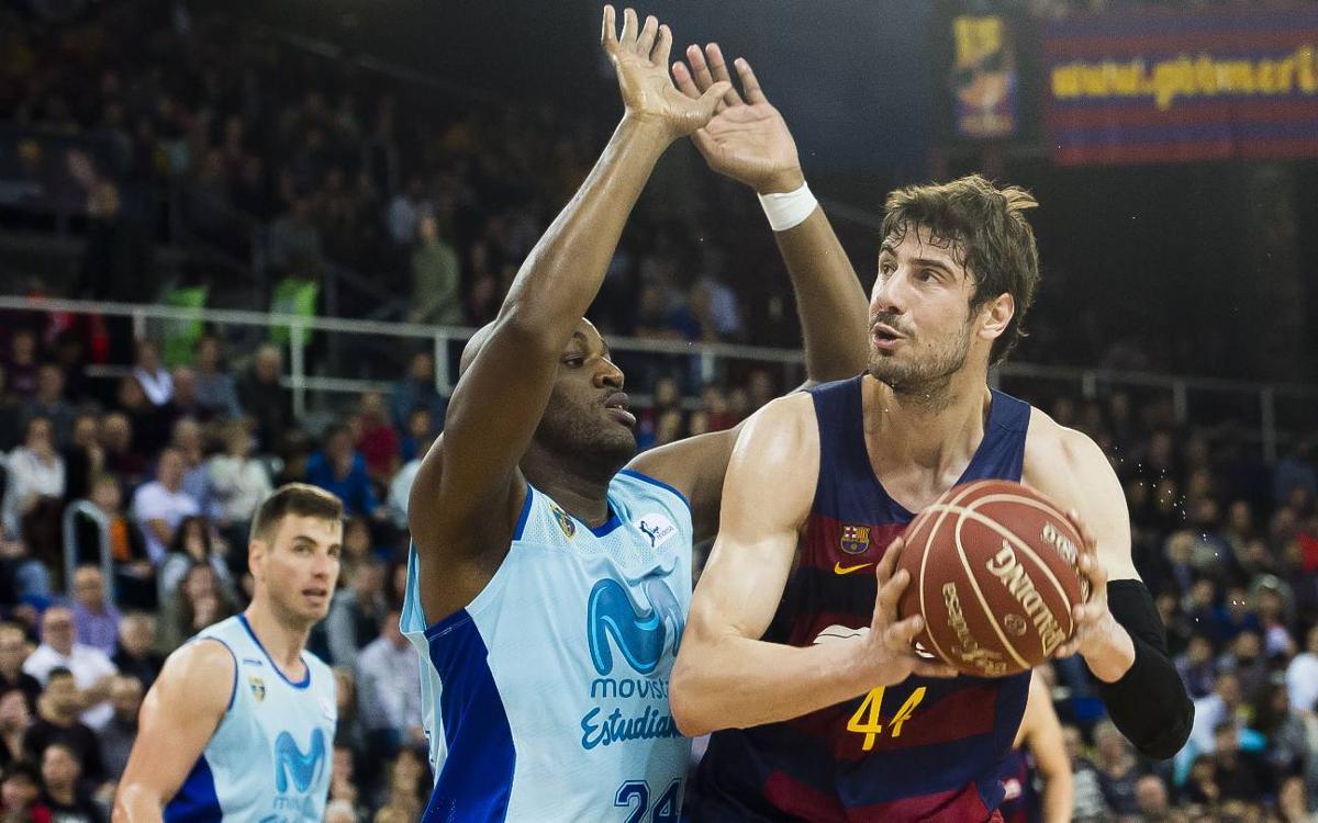 FC Barcelona Lassa - Movistar Estudiantes: Reencuentro con la victoria y las buenas sensaciones (92-80)
