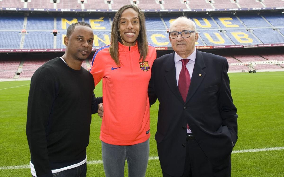La subcampiona olímpica Yulimar Rojas fitxa pel Barça