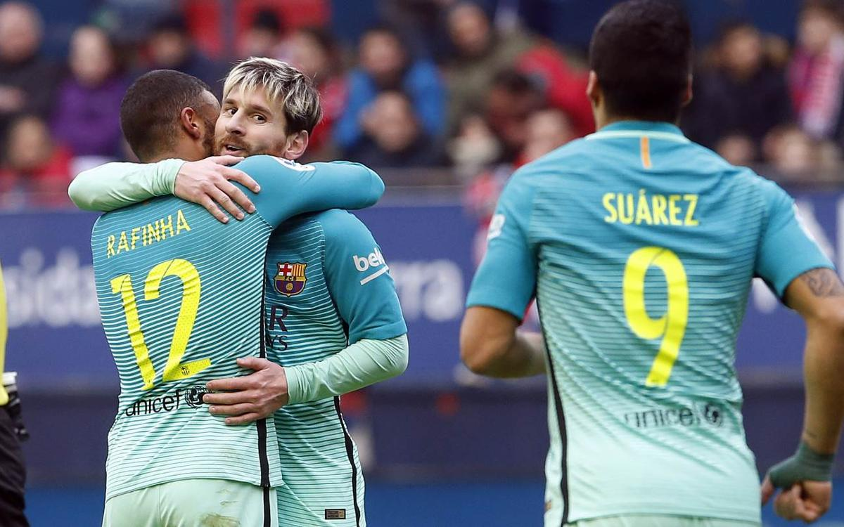CA Osasuna 0-3 FC Barcelona: That will do nicely!