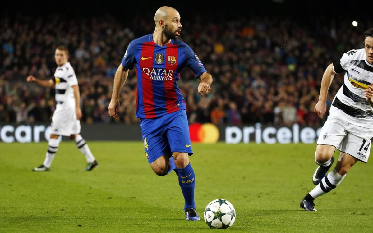 Javier Mascherano: The victory strengthens us to continue fighting for titles