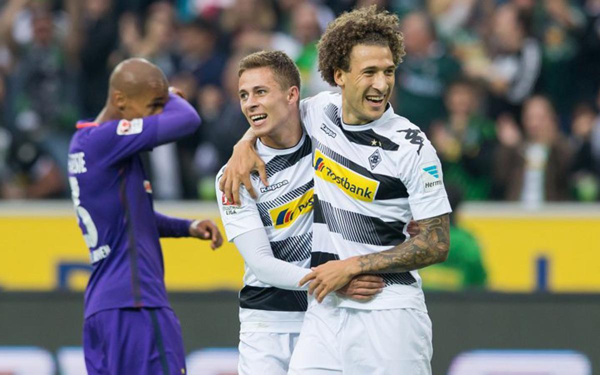 El Borussia Mönchengladbach se rehace con una goleada contra el Werder Bremen