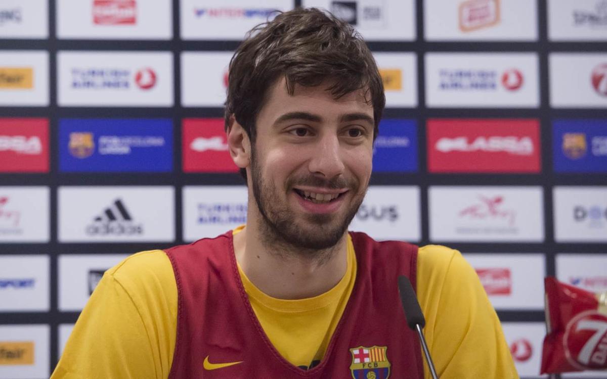 "Ante Tomic: ""Hem de ser sòlids al Palau"""