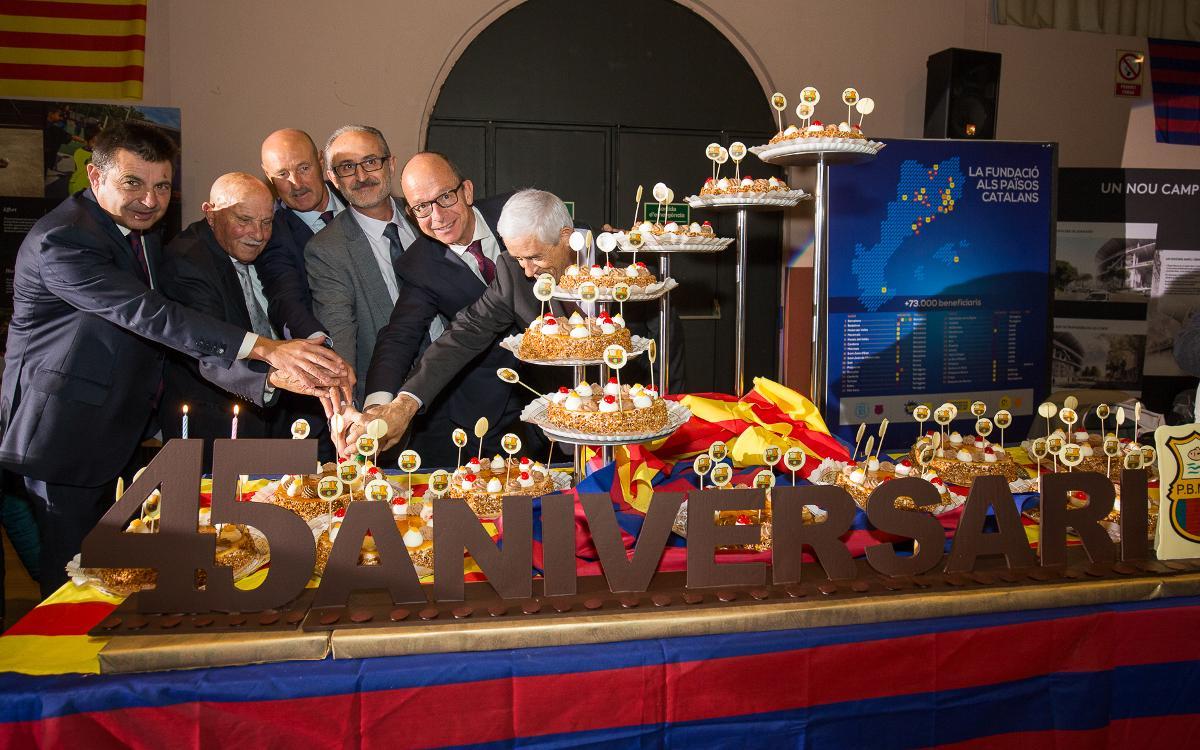 Jordi Cardoner, present a la celebració del 45è aniversari de la PB Mollet