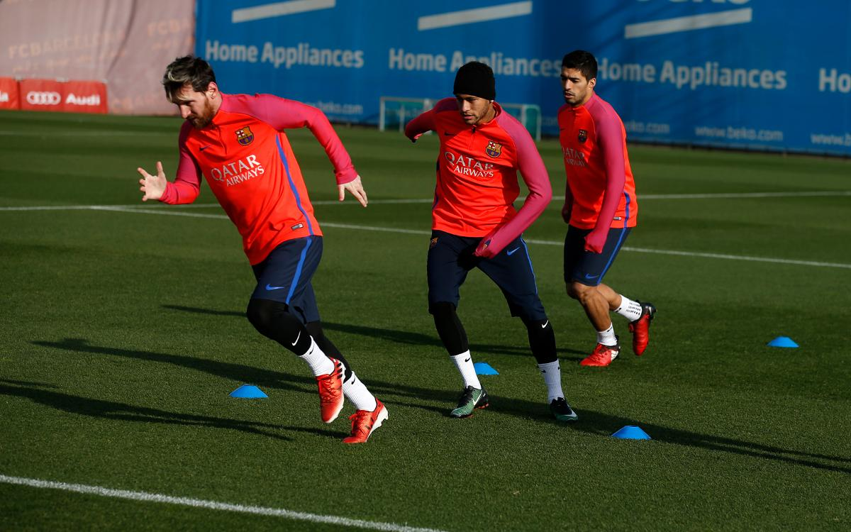 VIDEO: Barça train, announce squad for Qatar friendly