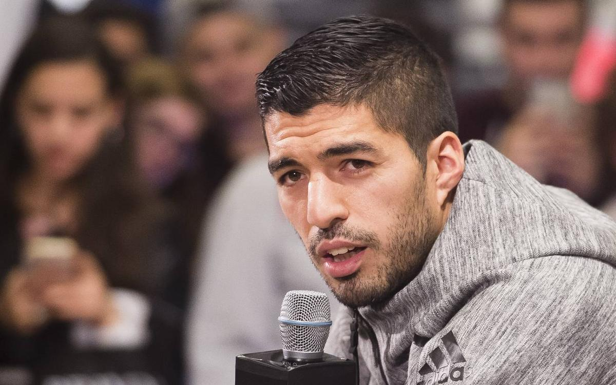 Overjoyed Luis Suárez: I am where I want to be