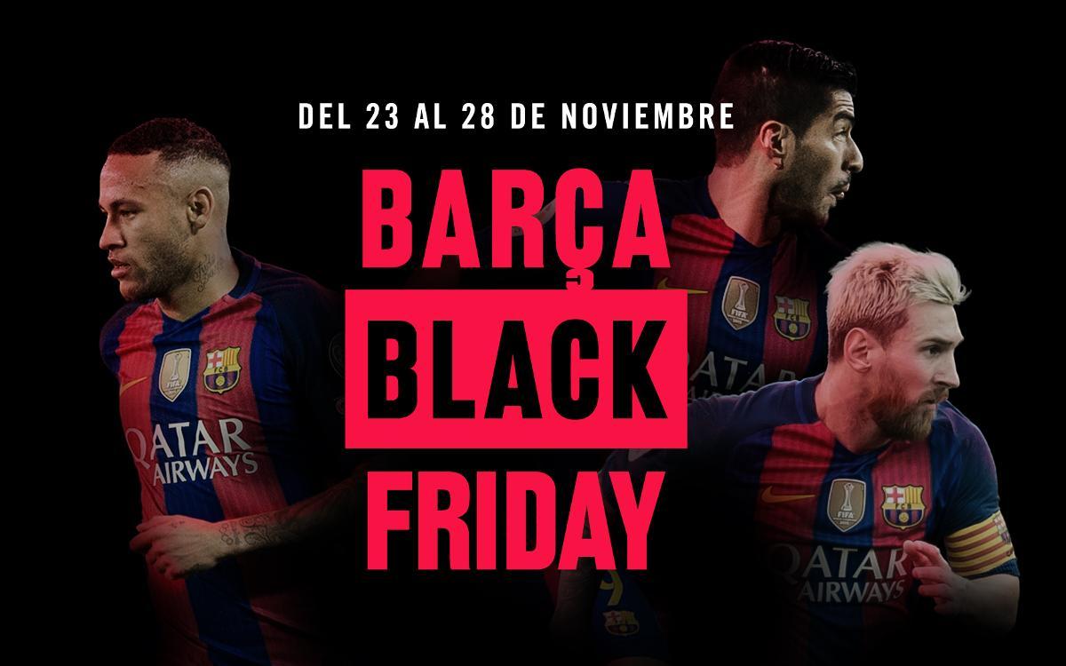 El Black Friday del Barça, del 23 al 28 de noviembre
