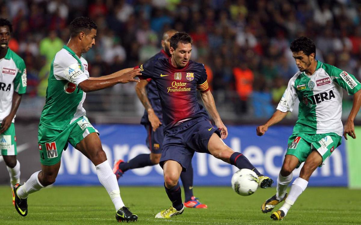 El FC Barcelona, davant els equips àrabs