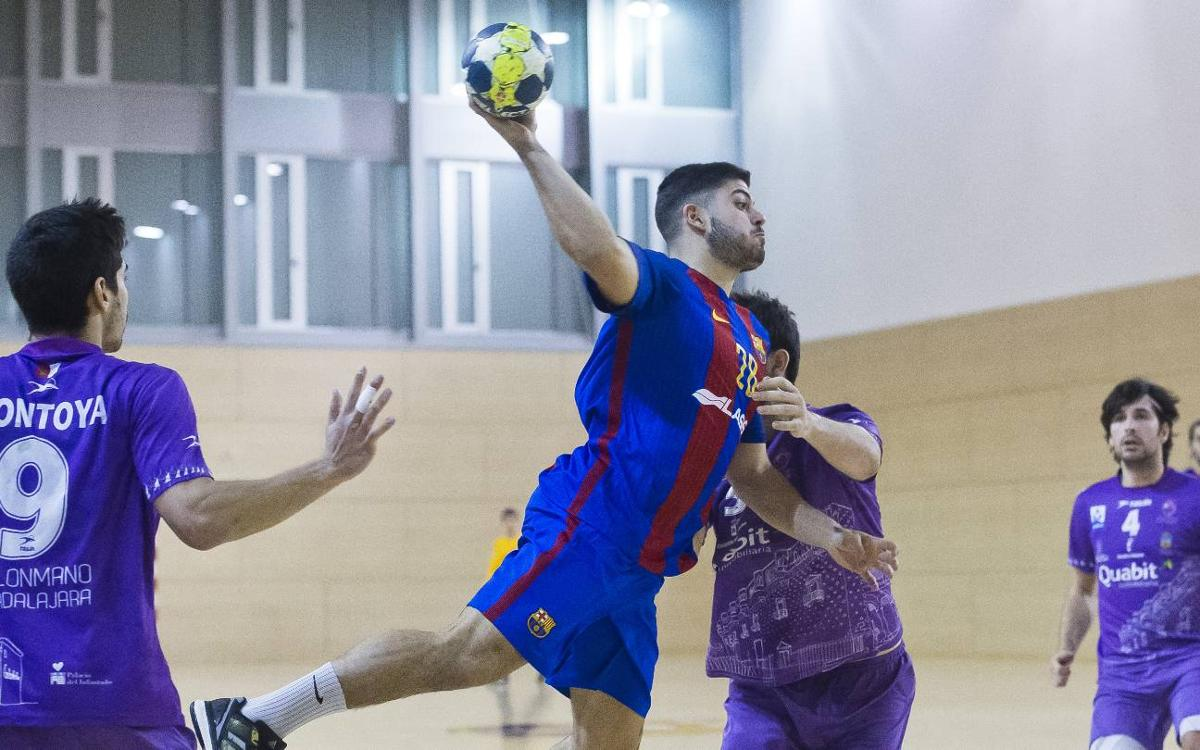 Quabit Guadalajara - FC Barcelona Lassa B: El fin de un sueño (36-27)