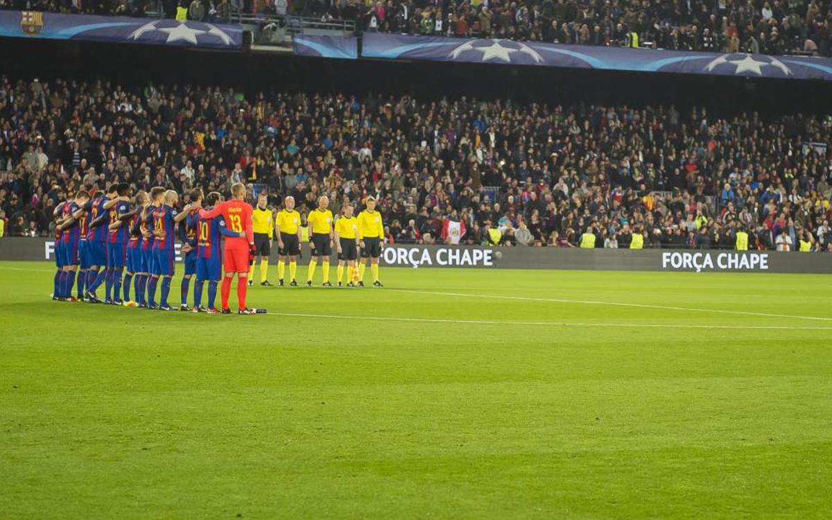 Le FC Barcelone invite Chapecoense au Trophée Gamper 2017
