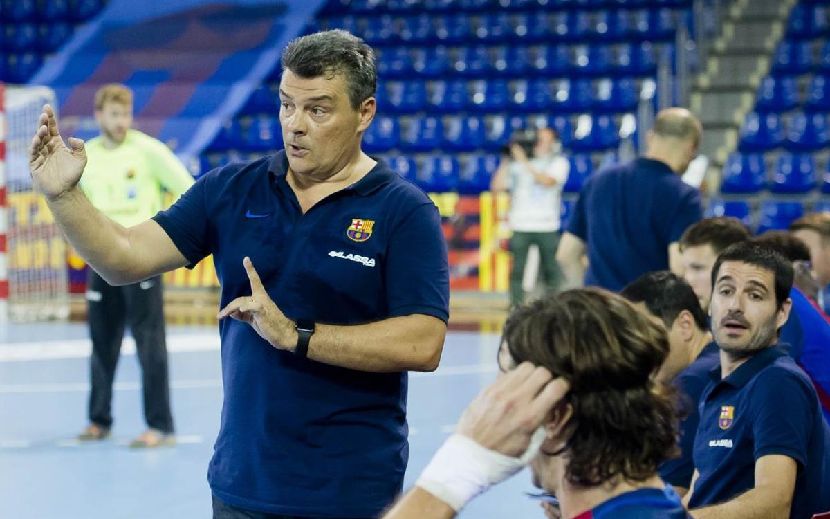 """Xavi Pascual: """"El Silkeborg és un equip molt ben treballat"""""""