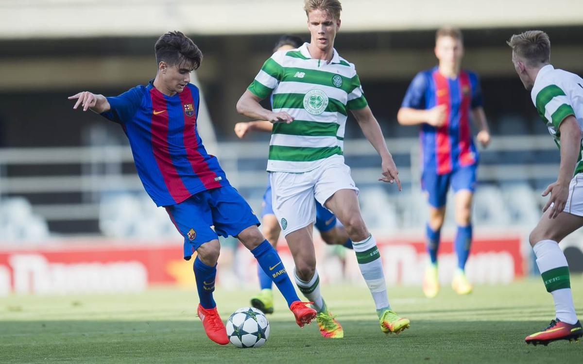Celtic FC – Juvenil A: Volen gaudir amb la classificació a la butxaca