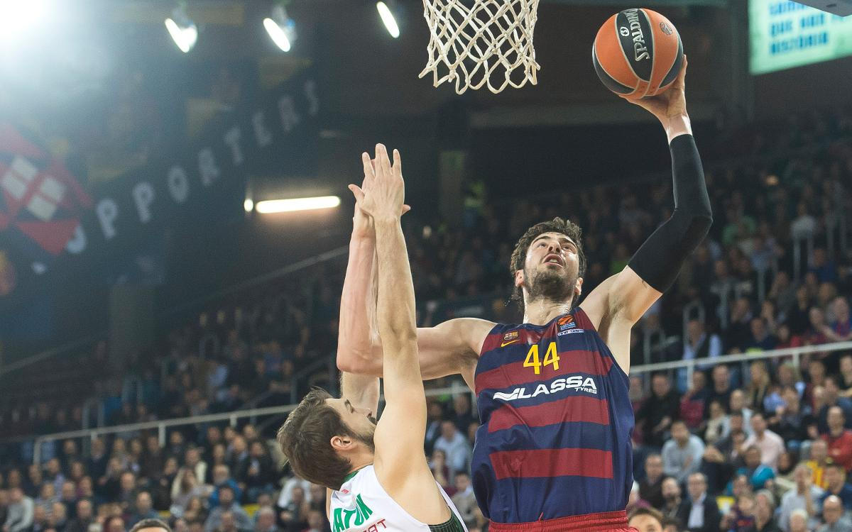 FC Barcelona Lassa v Darussafaka Dogus Istambul: Patience leads to victory to end year on a high (81-77)