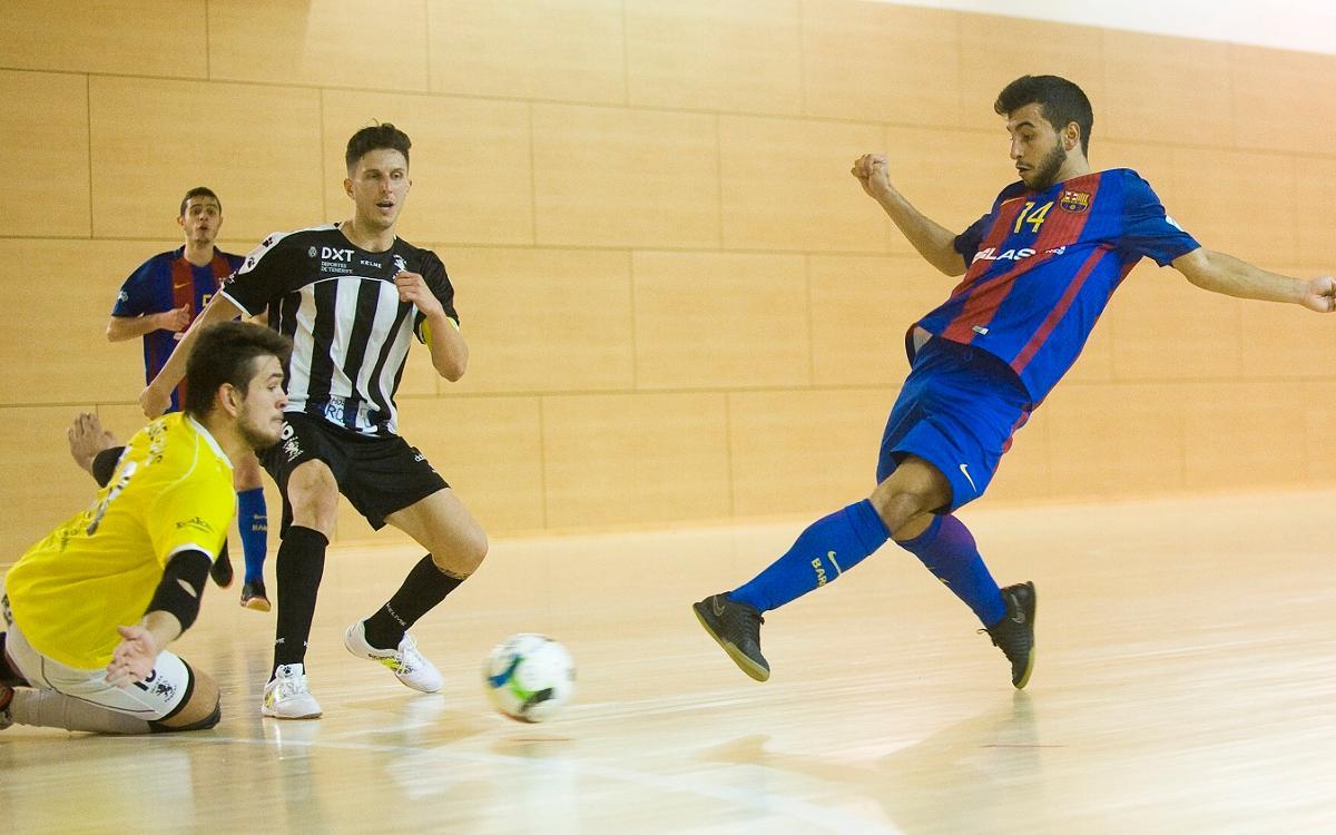 El filial supera un combatiu Tenerife i manté el liderat (8-4)
