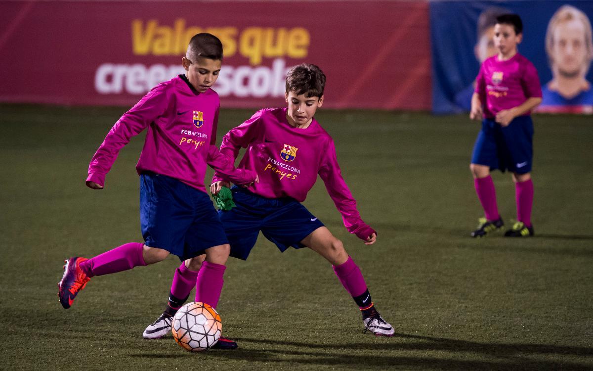 Primer entrenamiento de la Selección de Peñas de la temporada
