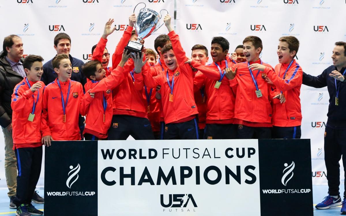 L'Infantil, campió de la World Futsal Cup