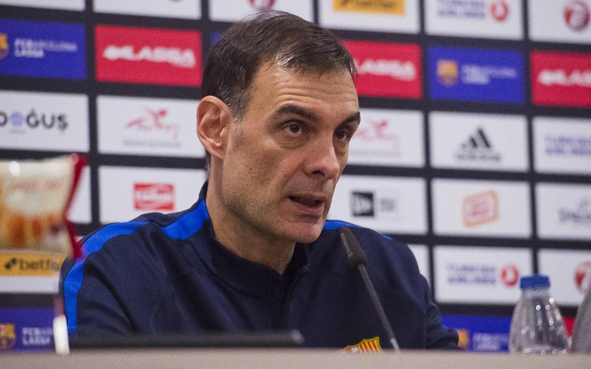 """Bartzokas: """"Els partits contra el Reial Madrid són sempre especials"""""""