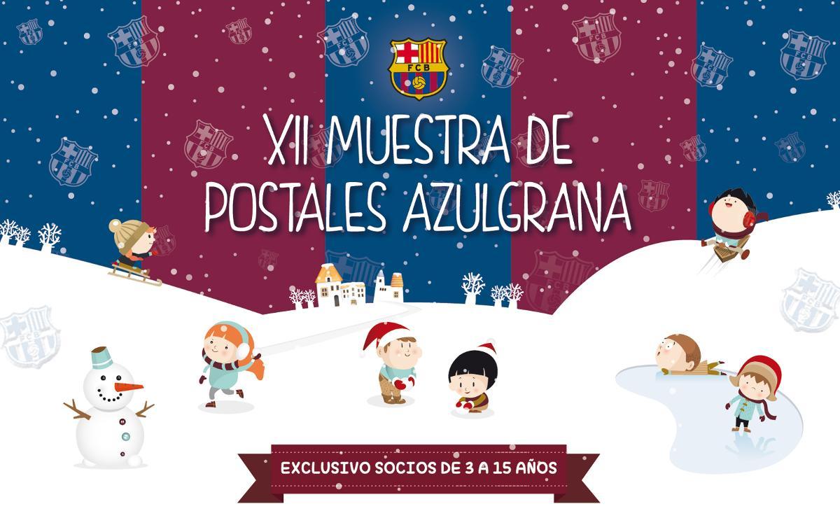 XII Muestra de Christmas Blaugrana para socios de 3 a 15 años