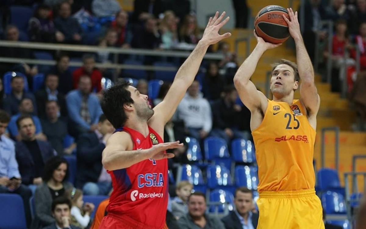 CSKA Moscow v FC Barcelona Lassa: Defeat at notoriously tough court (92-76)