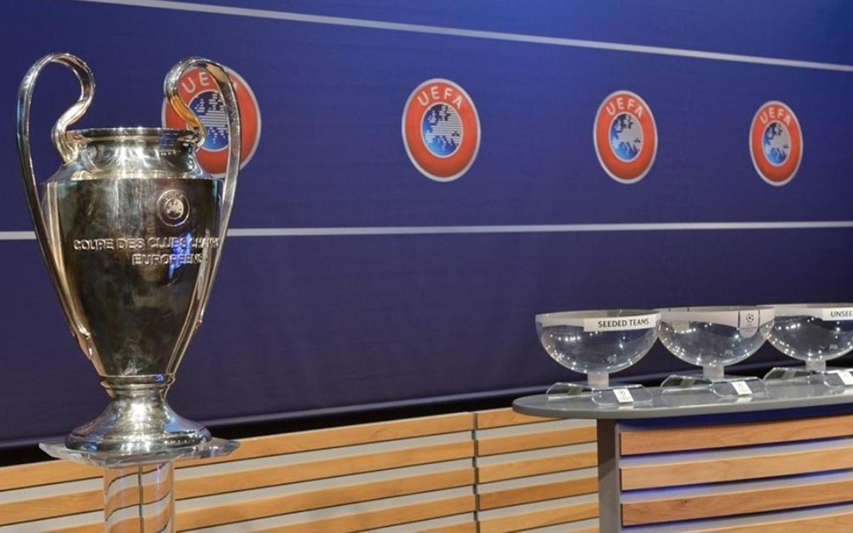 チャンピオンズリーグ抽選準備完了