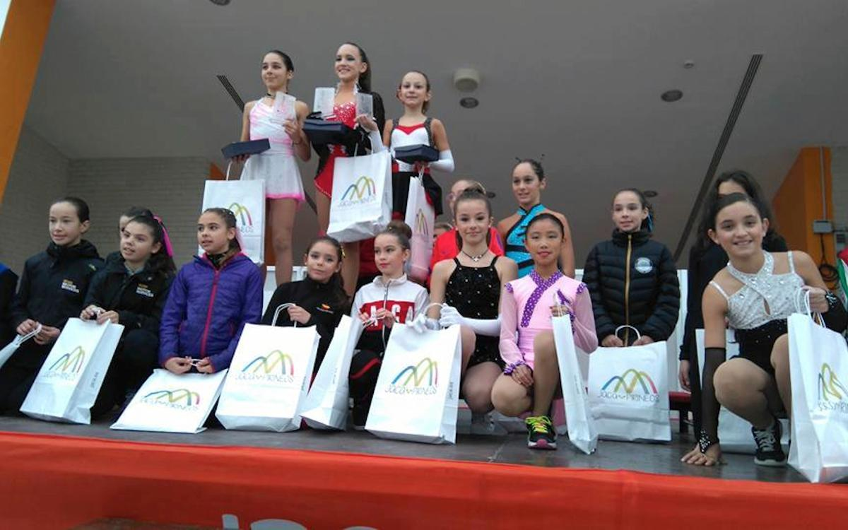 Éxito del patinaje azulgrana en Jaca