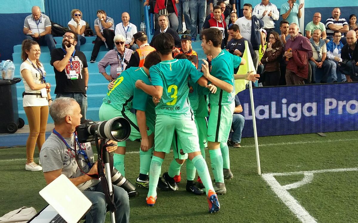 Barça-Real Madrid, semifinales de Laliga Promises