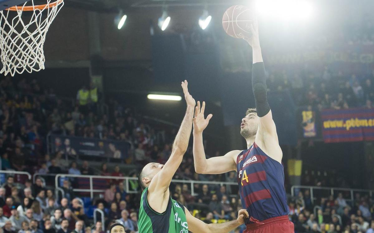 FC Barcelona Lassa – Divina Seguros Joventut: Sudado triunfo en el derbi (79-77)