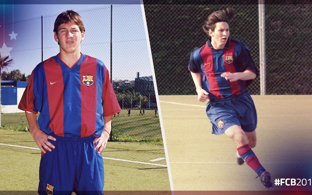 Leo Messi's top skills in the FC Barcelona youth academy