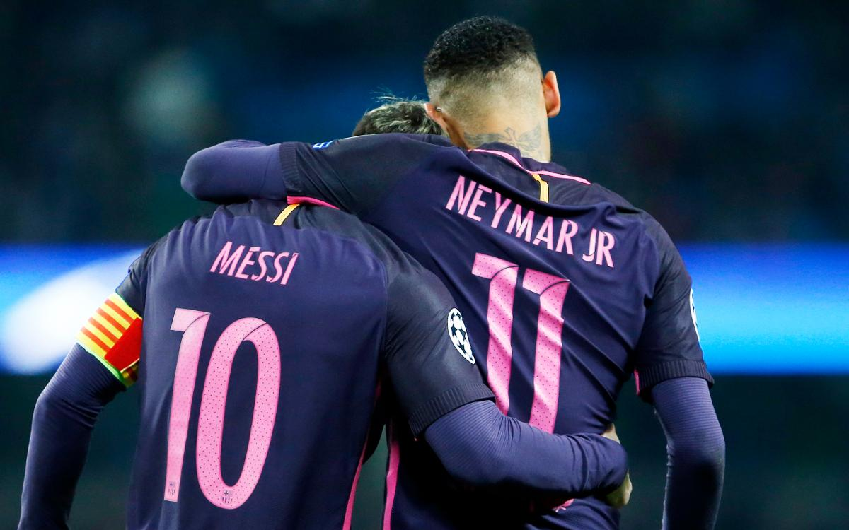 Neymar Jr et Leo Messi, candidats au Prix Puskas 2016