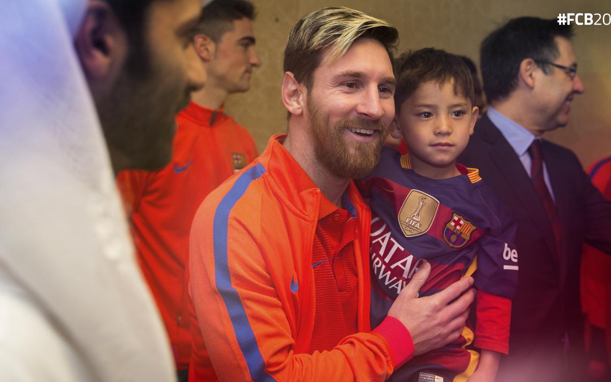 Une année d'émotion avec le FC Barcelone