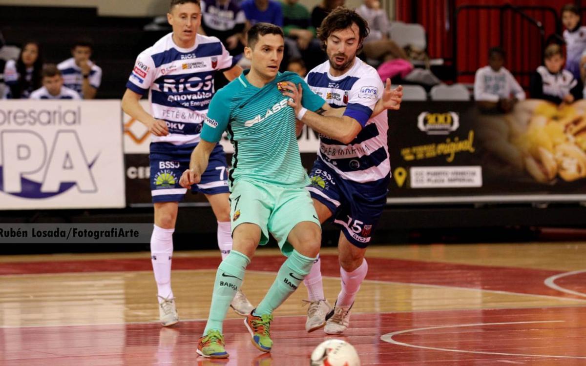 Zaragoza - FC Barcelona Lassa: Empate para mantenerse terceros (3-3)