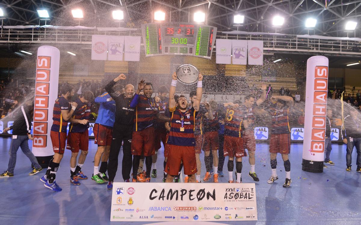 El Barça, León y la Copa Asobal