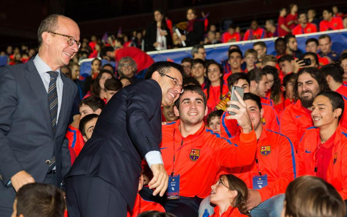 FC Barcelona shows its commitment to being a multisports club with the official presentation of its amateur sections