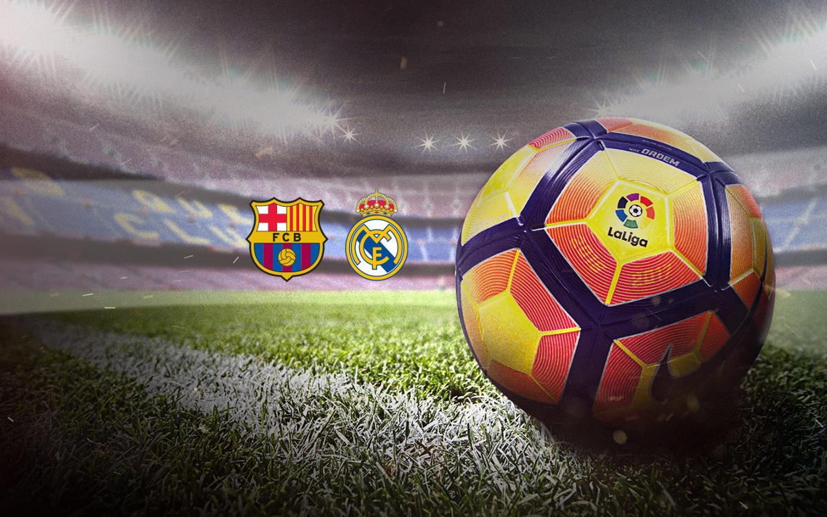 Win the ball used during El Clásico