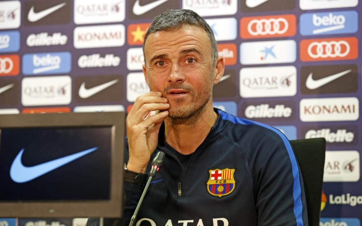 Luis Enrique: We will need to create lots of chances