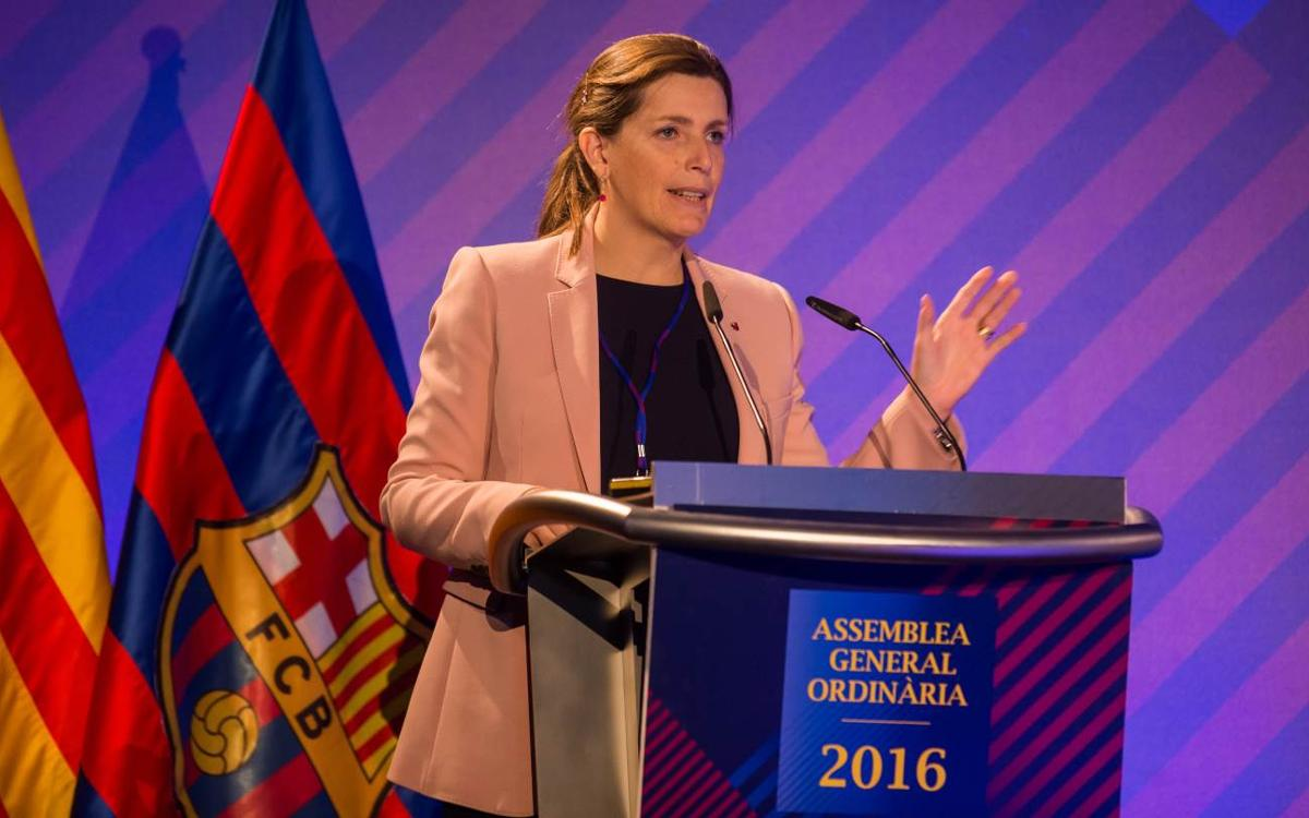 Susana Monje resigns from her role as FC Barcelona Vice President