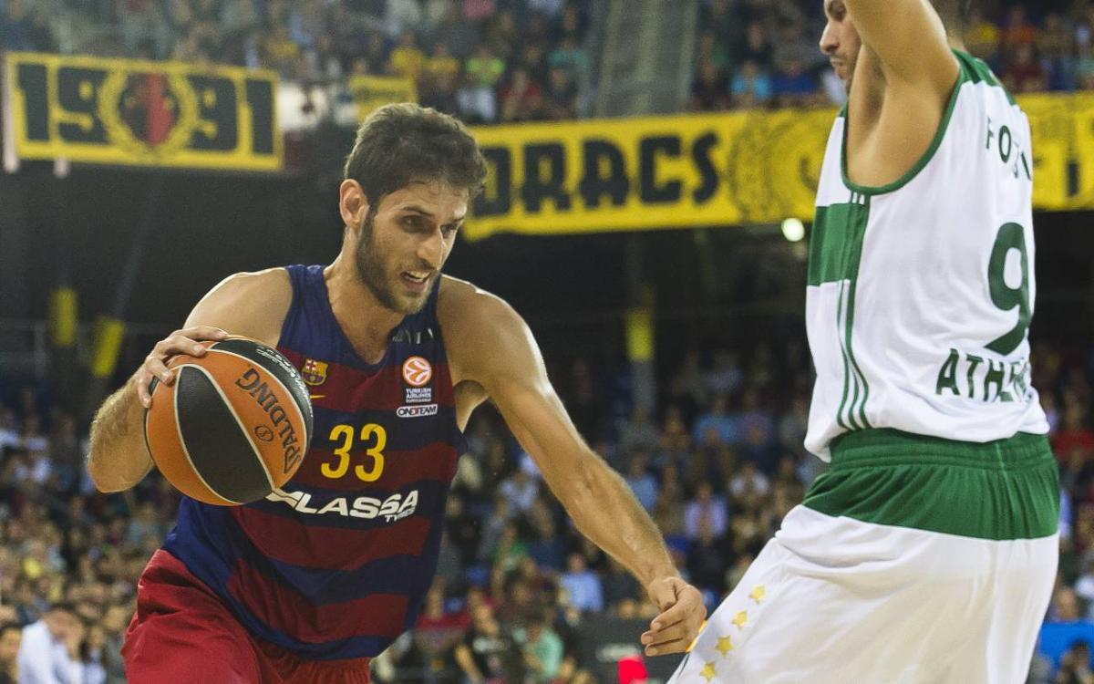 FC Barcelona Lassa - Panathinaikos: Un duel amb molta història
