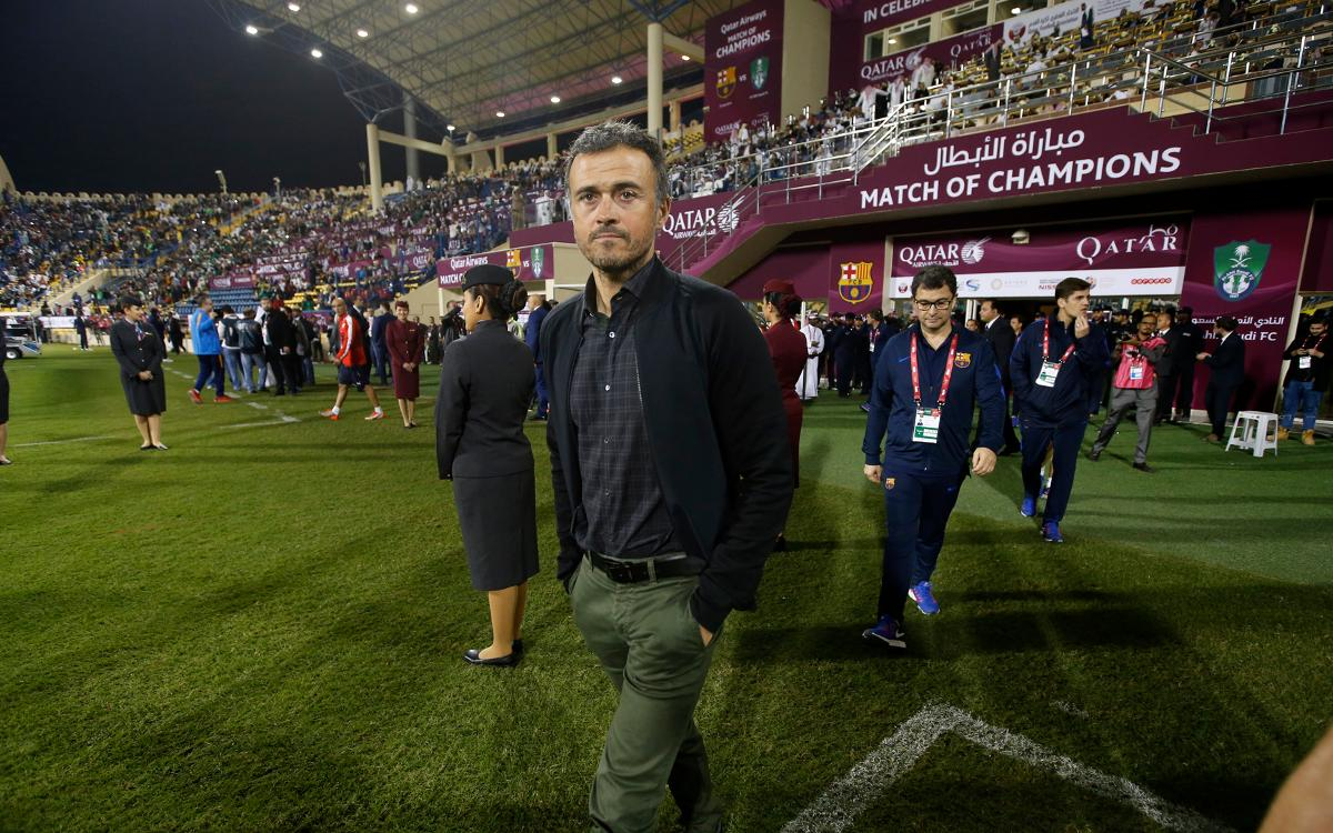Luis Enrique: Mission accomplished in Qatar