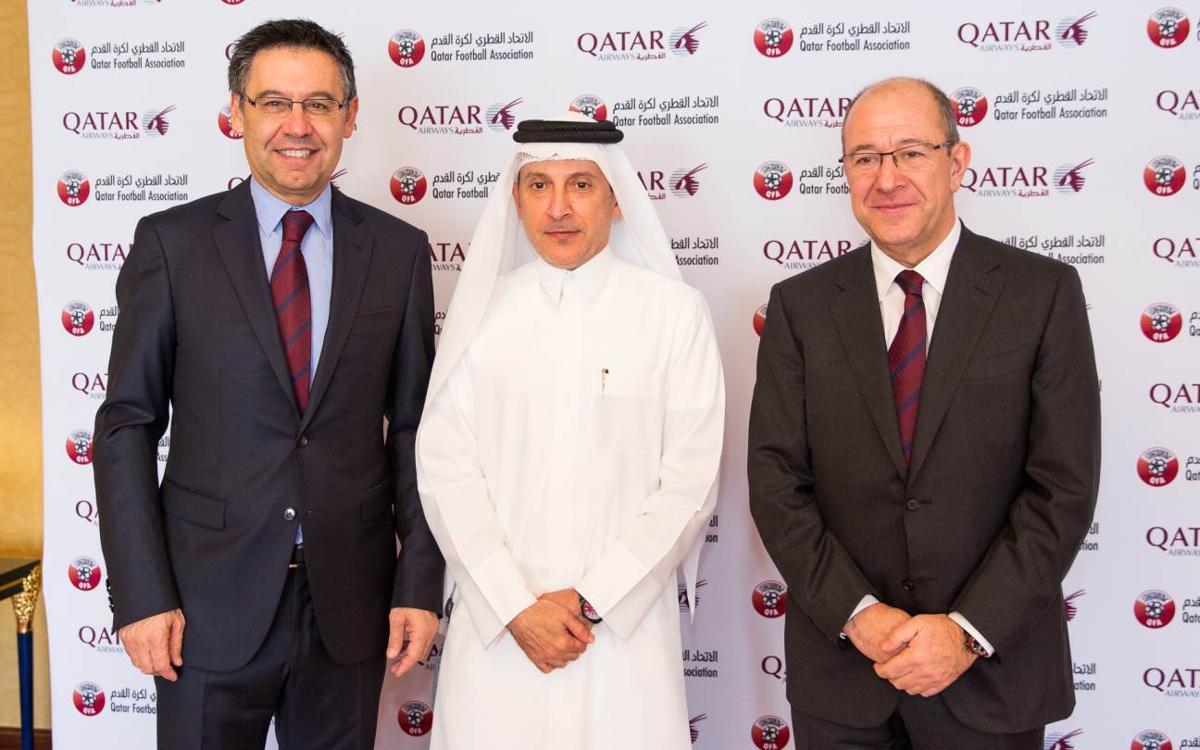 """Manel Arroyo: """"Estem treballant amb Qatar Airways per a un acord com a aerolínia oficial"""""""
