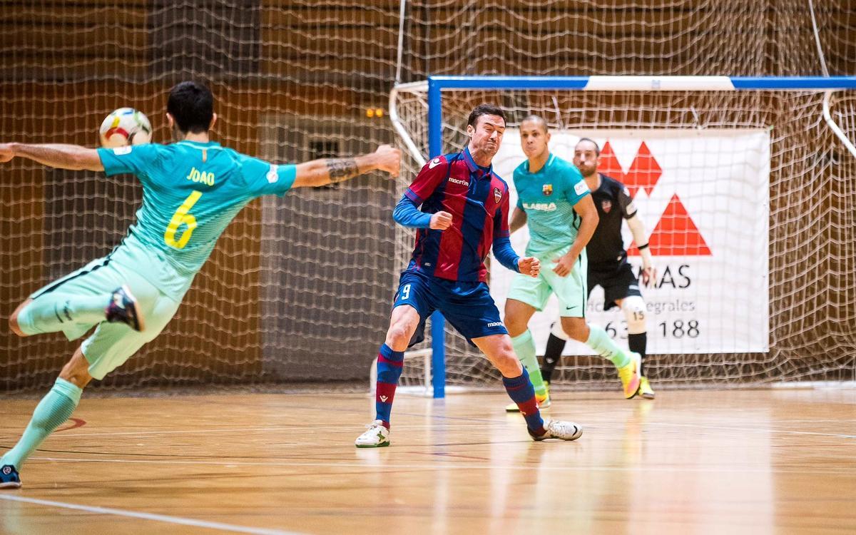 Levante v FC Barcelona Lassa: Cruel cup exit (5-4)