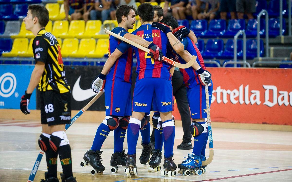 Noia Freixenet – FC Barcelona Lassa: Triomf treballat per mantenir la distància (0-4)